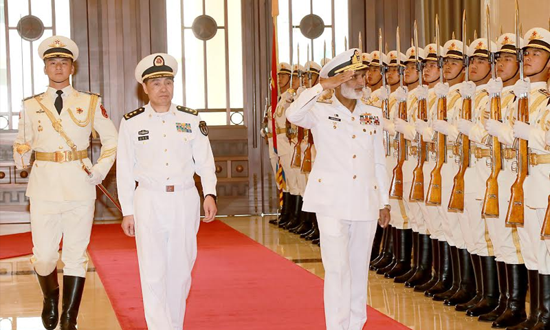 Chief of the Naval Staff Admiral Muhammad Zakaullah meets Commander PLA(N) in Beijing, China | raah.tv
